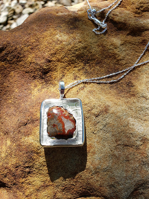 Fossilized Dino Necklace
