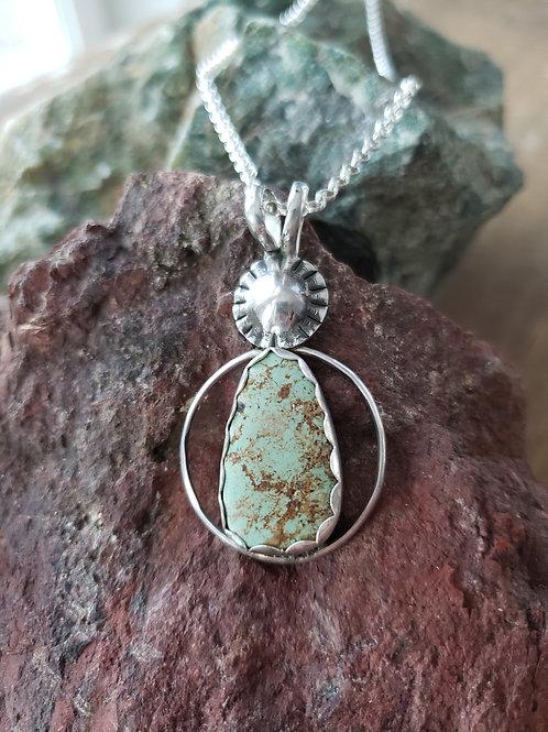 Sunburst Turquoise Necklace