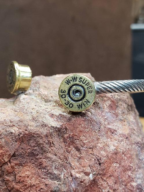 Open Range Domed Braid Cuff Bracelet
