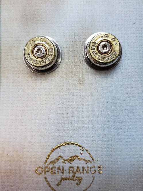 Open Range Earrings (Plain Setting)