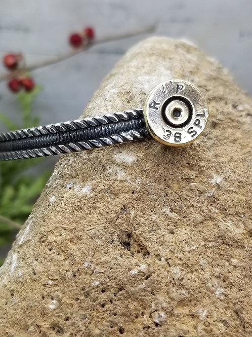 Open Range Flat Braided Cuff Bracelet
