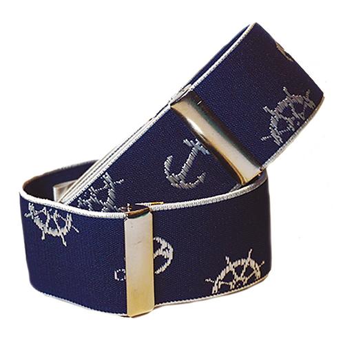 Sailing Blue Sleeve Garters