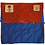 Thumbnail: Blue & Orange Leather Roll Bag