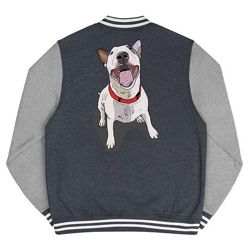 Bull Terrier Men's Letterman Jacket