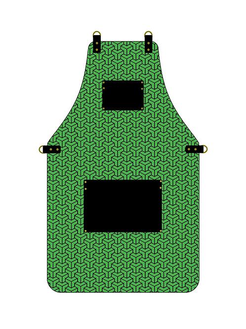 3D Green Apron