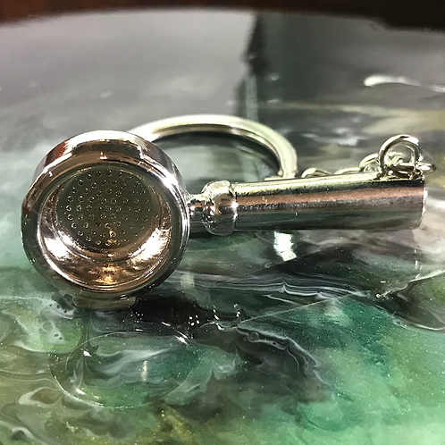 Coffee Portafilter Keychain