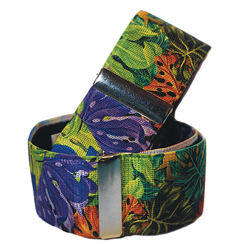 Tropical Plant Sleeve Garters