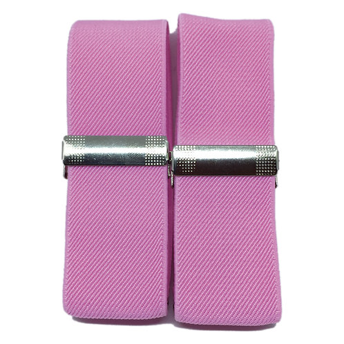 Classic Pink Sleeve Garters