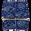 Thumbnail: Blue Paisley Sleeve Garters