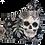 Thumbnail: Skull Black Face Mask