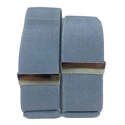 Classic Grey Sleeve Garters