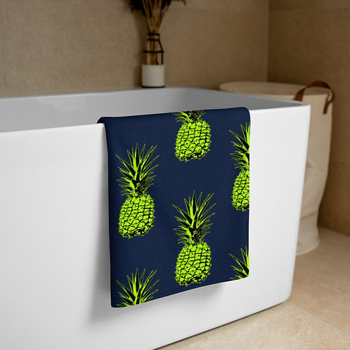Green Pineapple Towel