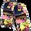 Thumbnail: Blue Floral Sleeve Garters