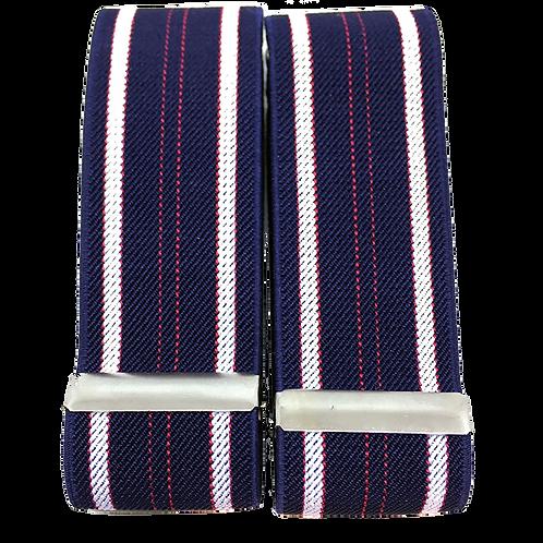 American Stripes Sleeve Garters