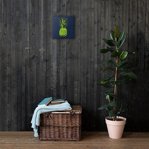 Green Pineapple Canvas