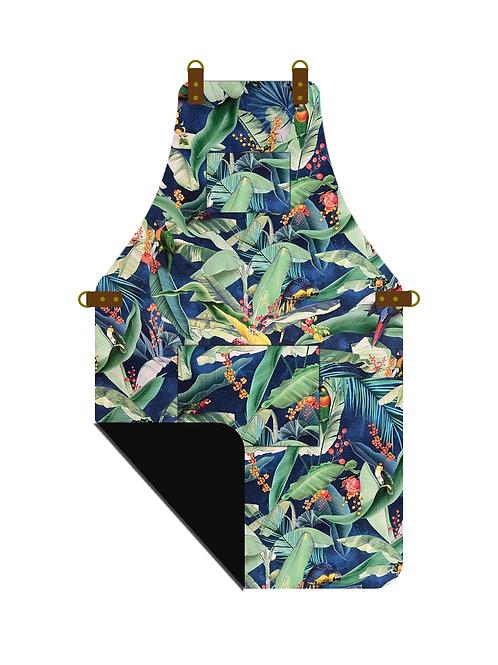 Tropical Parrot Apron