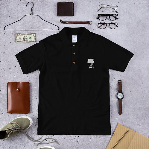 Mr Suspender Embroidered Polo Shirt
