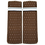 Thumbnail: Dotted Brown Sleeve Garters