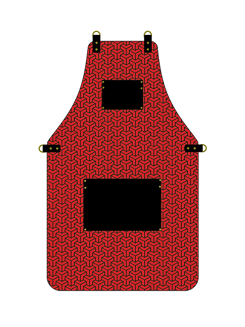 3D Red Apron