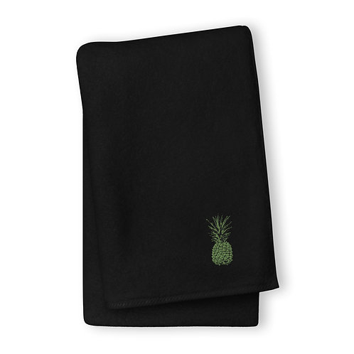 Green Pineapple Turkish cotton towel