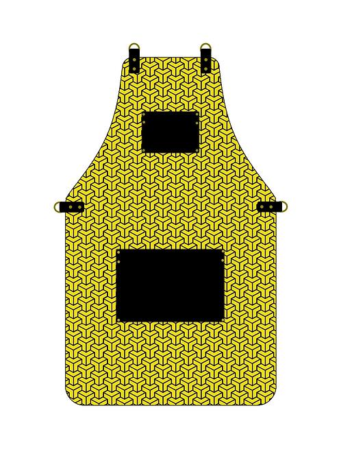 3D Yellow Apron