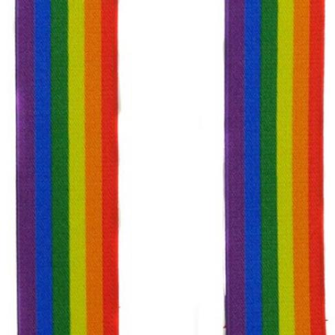 Rainbow Sleeve Garters