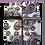 Thumbnail: White Paisley Sleeve Garters