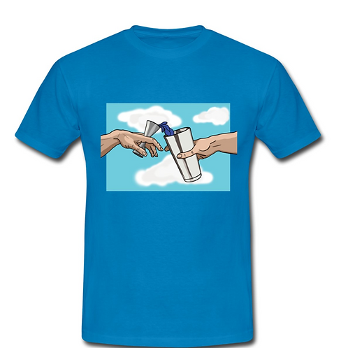 The Creation of Blue Curacao T-Shirt