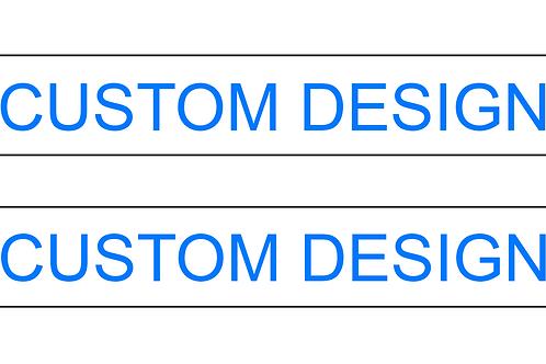Custom Sleeve Garters