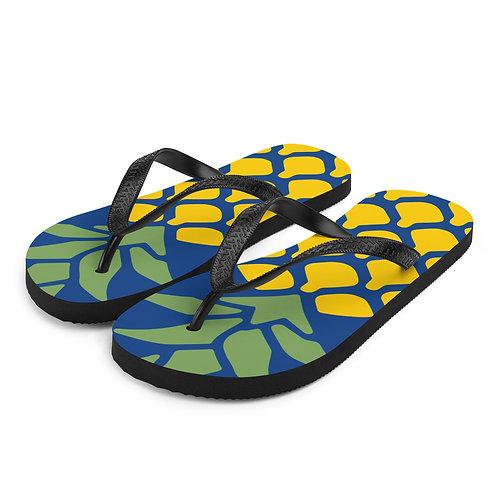 Pineapple Flip-Flops
