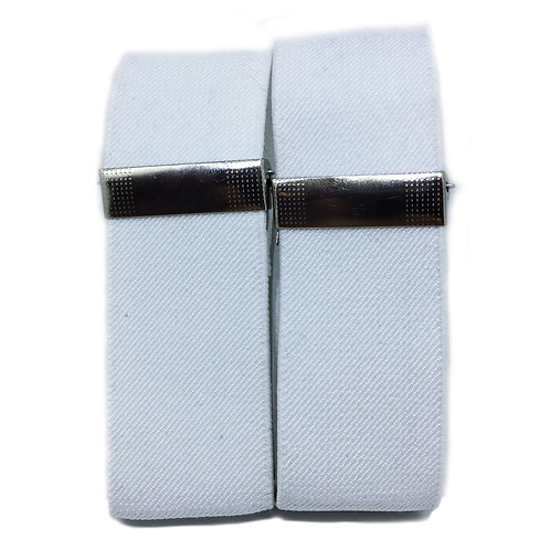 Classic White Sleeve Garters