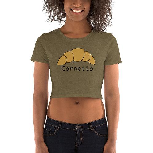 Cornetto Women's Crop Tee