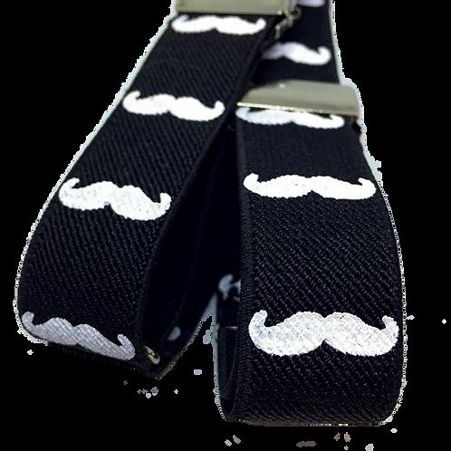 Moustache Sleeve Garters