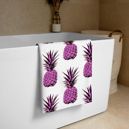 Pink Pineapple Towel
