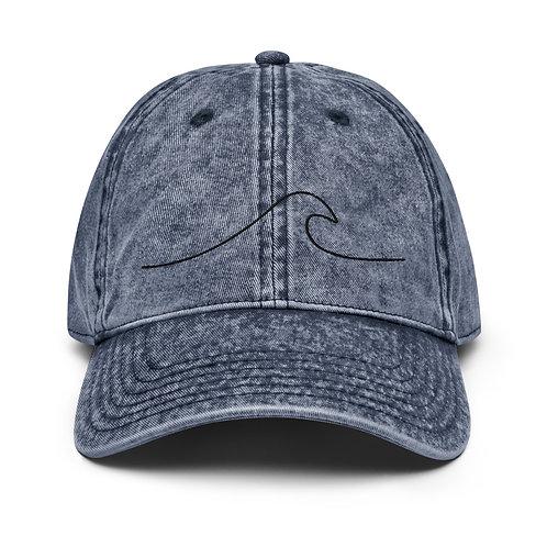 Wave Vintage Cotton Twill Cap