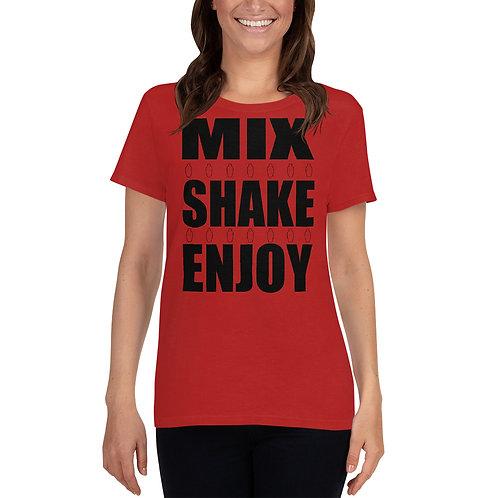 Mix Shake Enjoy Women's short sleeve t-shirt