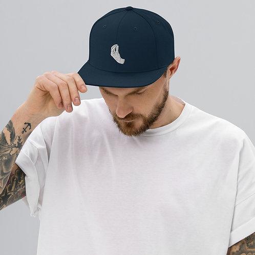 Italian Hand Snapback Hat