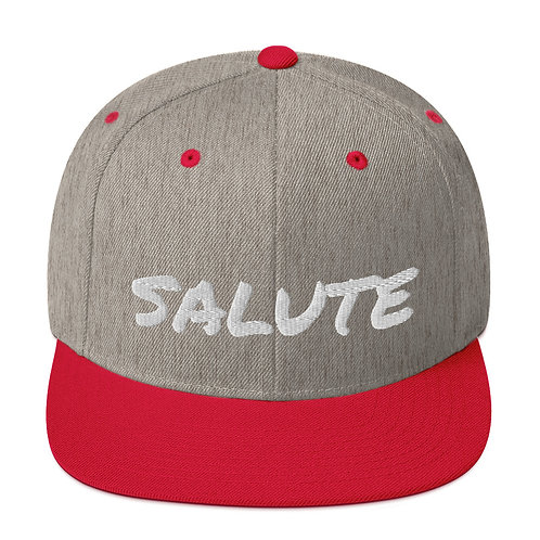 Salute Snapback Hat