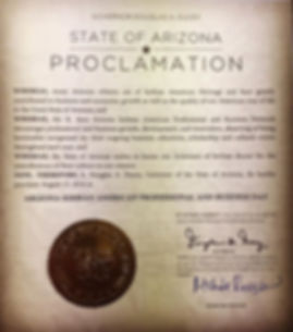 Thank you Arizona Governor Doug Ducey fo