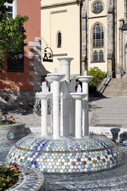 Porzellanbrunnen