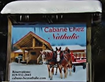 Cabane chez Nathalie