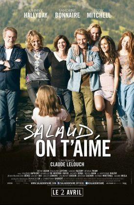Affiche oficielle du film On t'aime Salaud avec Johnny Hallyday