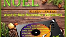 Un album de Noël pour le Duo Nouveaux Versatiles