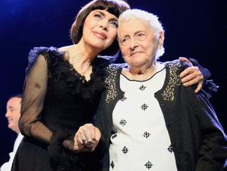 Mireille Mathieu en deuil