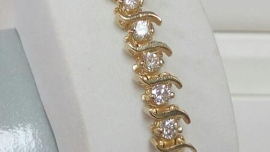 Ladies Diamond Fashion Bracelet
