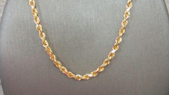 16in 14kt Rope Chain