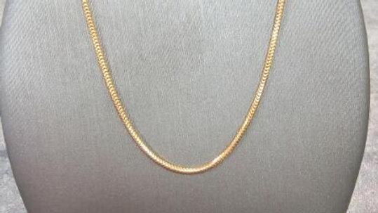 """16"""" Gold Serpentine Chain"""