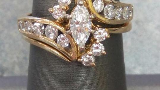 Ladies Diamond Wedding Set