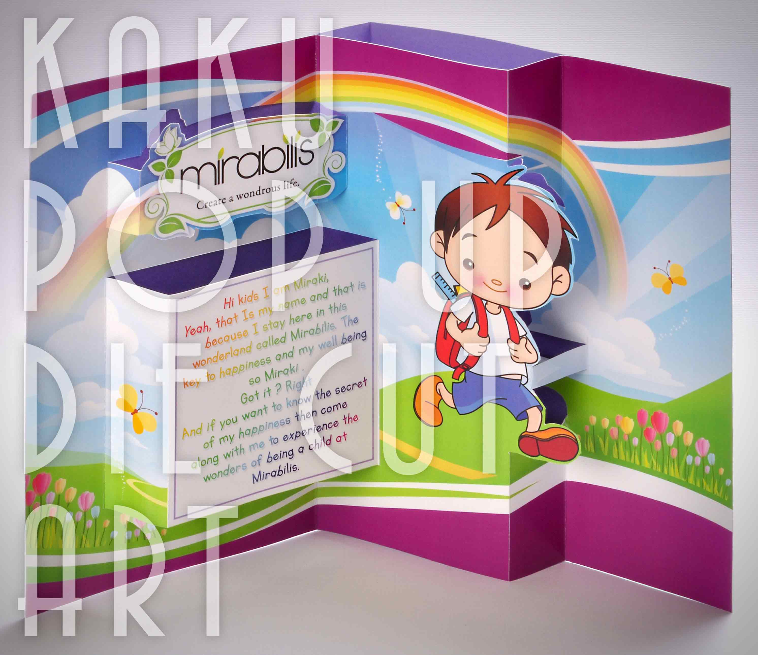 KIDS POP UP BOOK