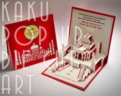 TAJ MAHAL |  EVENT INVITATION CARD